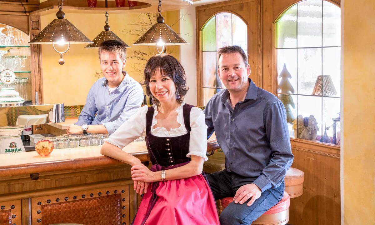Familie Geisler Bar Sonnleiten Tux