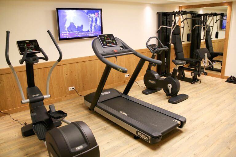 Fitnessraum Sonnleiten Tux