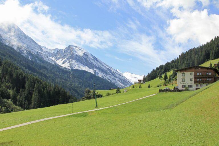 Gletscherblick Hotel Sonnleiten Tux