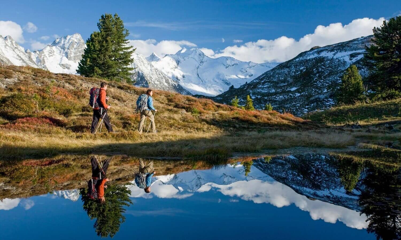 Herbstwanderung Bergsee Zillertal