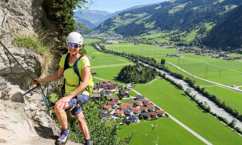 Klettersteig Pfeilspietzwand Mayrhofen