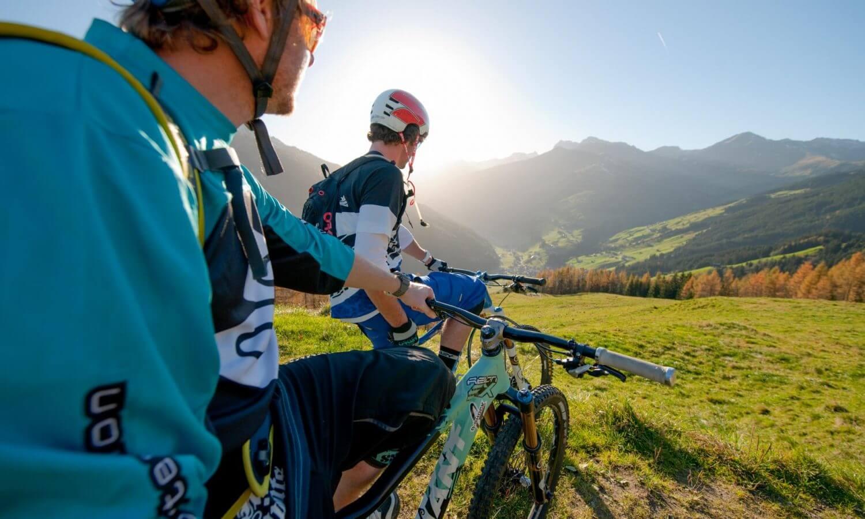 Mountainbiken Schrofenalm Tux