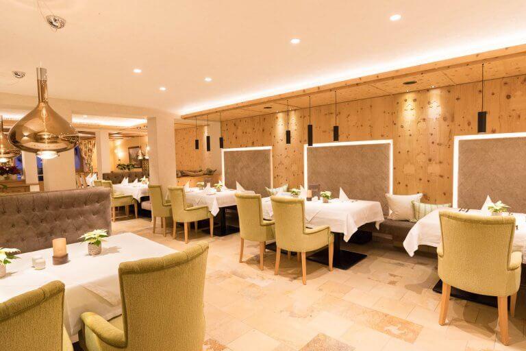 Neuer Speisesaal Hotel Sonnleiten Tux