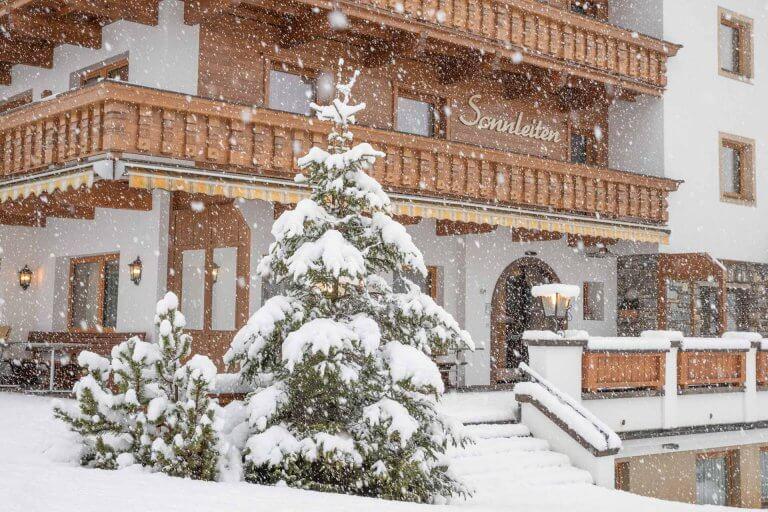 Scheefall Hotel Pension Sonnleiten Lanersbach