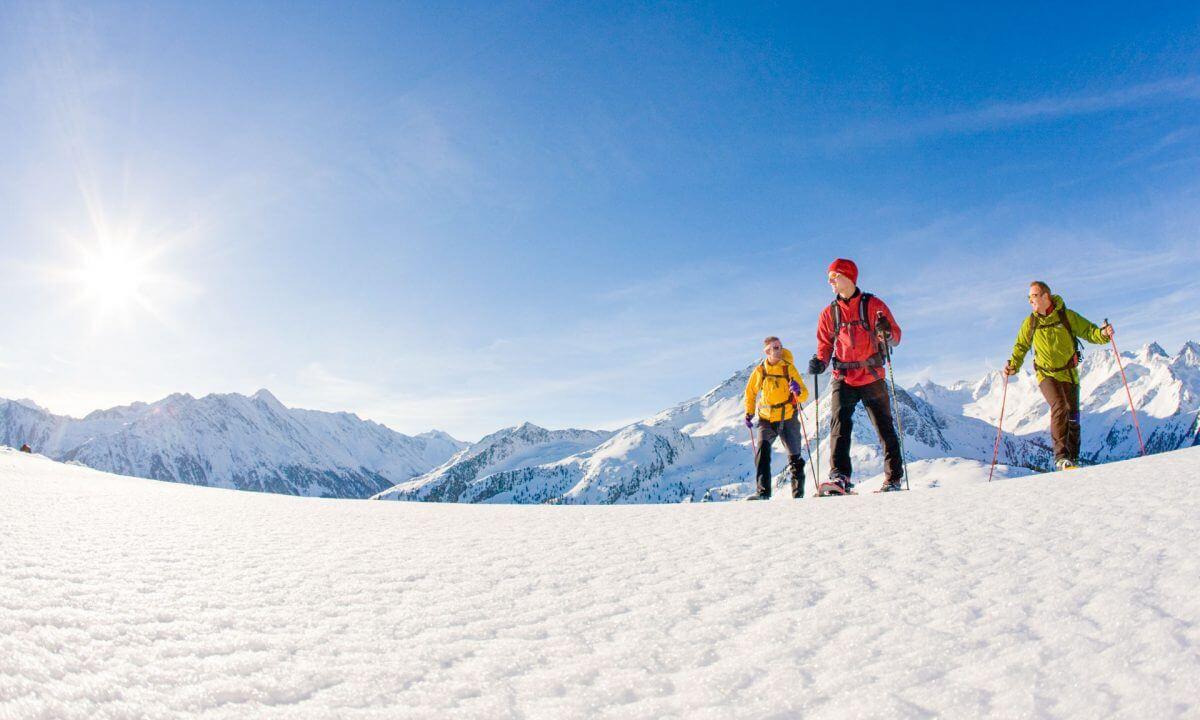 Schneeschuhwandern Wildkarspitze Zillertal