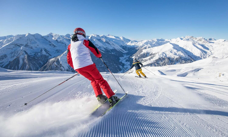 Skifahrer Abfahrt Laemmerbichel