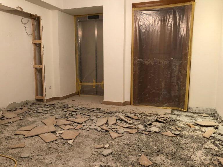 Umbau Eingangsbereich 11