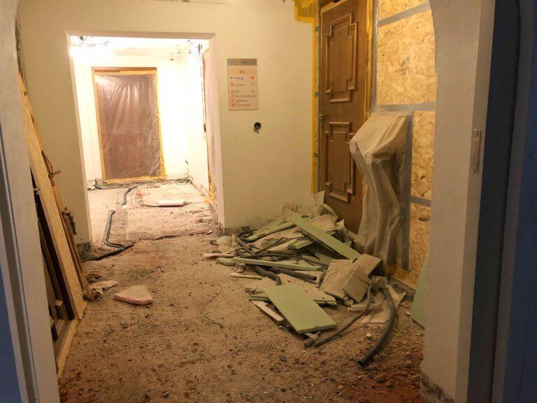 Umbau Eingangsbereich 12