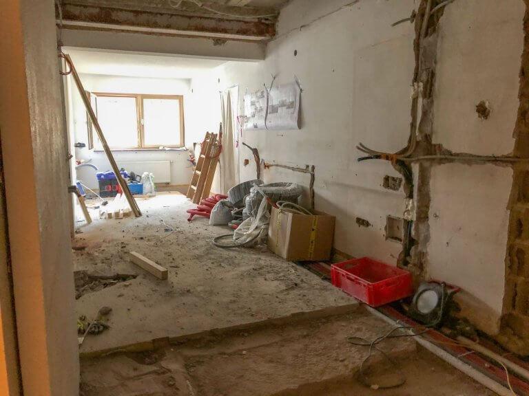 Umbau Eingangsbereich 14