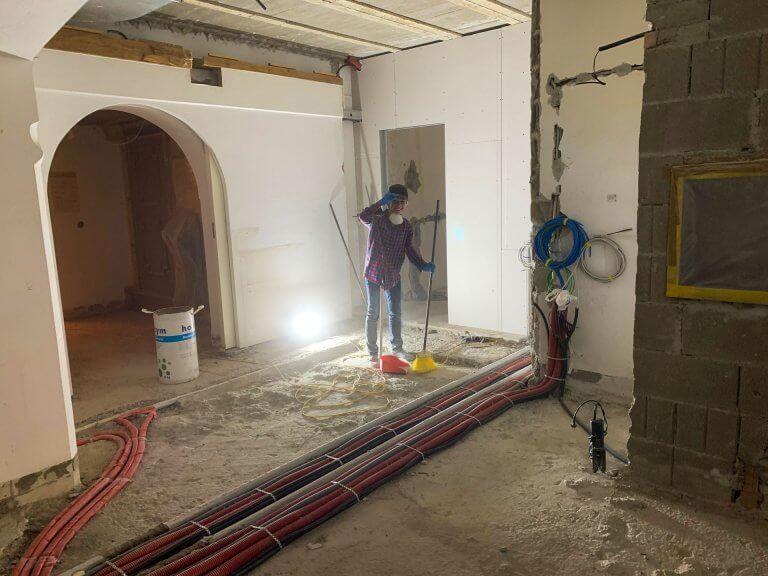 Umbau Eingangsbereich 16
