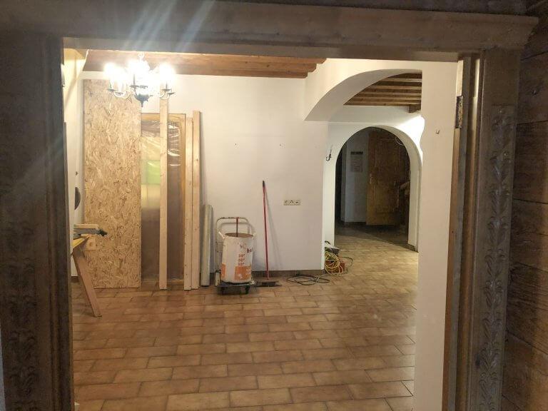 Umbau Eingangsbereich 2