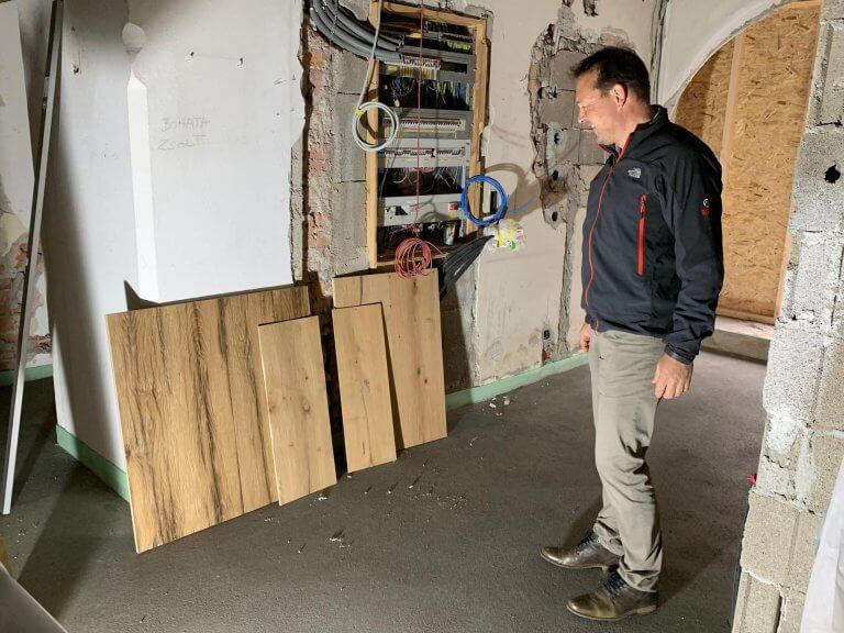 Umbau Eingangsbereich 22