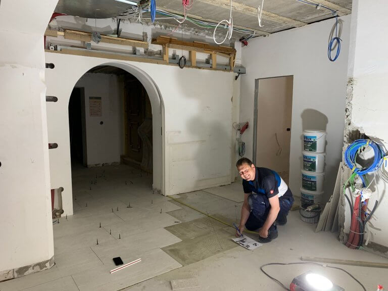 Umbau Eingangsbereich 25