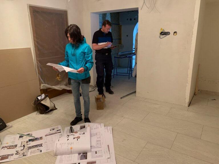 Umbau Eingangsbereich 27