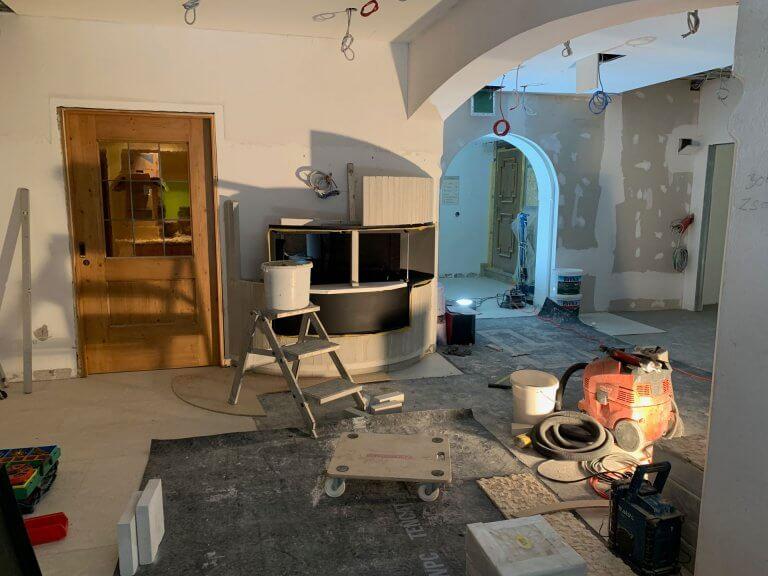 Umbau Eingangsbereich 30