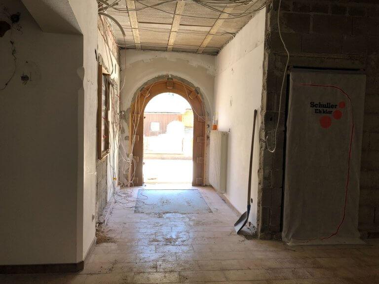 Umbau Eingangsbereich 8